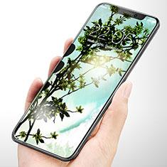 Apple iPhone Xs用強化ガラス 液晶保護フィルム V03 アップル クリア