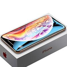 Apple iPhone Xs用強化ガラス フル液晶保護フィルム P02 アップル ブラック