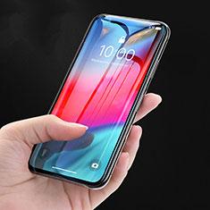Apple iPhone Xs用強化ガラス フル液晶保護フィルム P08 アップル ブラック