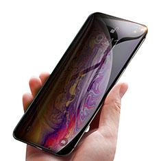 Apple iPhone Xs Max用反スパイ 強化ガラス 液晶保護フィルム P01 アップル クリア