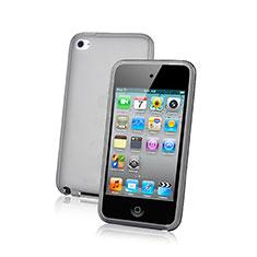 Apple iPod Touch 4用極薄ソフトケース シリコンケース 耐衝撃 全面保護 クリア透明 アップル グリーン