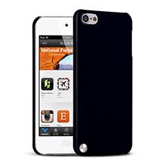 Apple iPod Touch 5用ハードケース プラスチック 質感もマット アップル ブラック