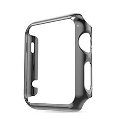 Apple iWatch 3 38mm用ケース 高級感 手触り良い アルミメタル 製の金属製 バンパー アップル グレー