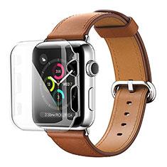 Apple iWatch 3 42mm用ハードカバー クリスタル クリア透明 アップル クリア