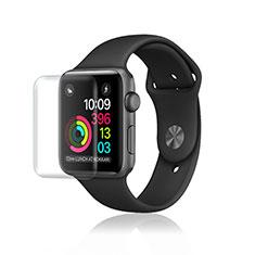 Apple iWatch 3 42mm用強化ガラス 液晶保護フィルム F07 アップル クリア