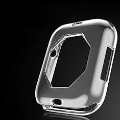Apple iWatch 4 44mm用極薄ソフトケース シリコンケース 耐衝撃 全面保護 S01 アップル グレー