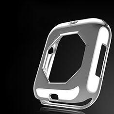 Apple iWatch 4 44mm用極薄ソフトケース シリコンケース 耐衝撃 全面保護 S01 アップル クリア