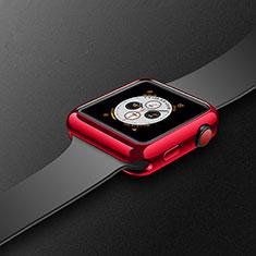 Apple iWatch 4 44mm用極薄ソフトケース シリコンケース 耐衝撃 全面保護 S02 アップル レッド