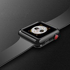 Apple iWatch 4 44mm用極薄ソフトケース シリコンケース 耐衝撃 全面保護 S02 アップル ブラック
