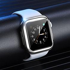 Apple iWatch 4 44mm用極薄ソフトケース シリコンケース 耐衝撃 全面保護 S03 アップル シルバー