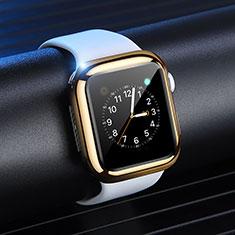 Apple iWatch 4 44mm用極薄ソフトケース シリコンケース 耐衝撃 全面保護 S03 アップル ゴールド