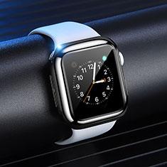 Apple iWatch 4 44mm用極薄ソフトケース シリコンケース 耐衝撃 全面保護 S03 アップル ブラック