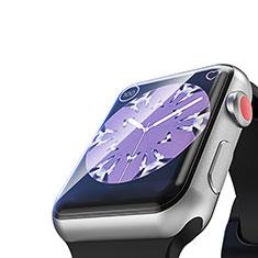 Apple iWatch 4 44mm用強化ガラス 液晶保護フィルム T03 アップル クリア
