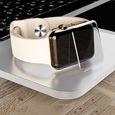 Apple iWatch 4 44mm用強化ガラス 液晶保護フィルム T04 アップル クリア