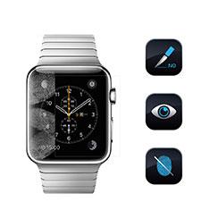 Apple iWatch 42mm用高光沢 液晶保護フィルム アップル クリア