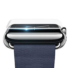 Apple iWatch 42mm用高光沢 液晶保護フィルム F02 アップル クリア