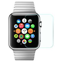 Apple iWatch 42mm用強化ガラス 液晶保護フィルム F08 アップル クリア