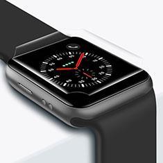 Apple iWatch 42mm用強化ガラス 液晶保護フィルム T01 アップル クリア