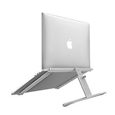 Apple MacBook Air 13.3 インチ (2018)用ノートブックホルダー ラップトップスタンド T12 アップル シルバー