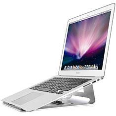 Apple MacBook Air 13 インチ.3 (2018)用ノートブックホルダー ラップトップスタンド S05 アップル シルバー