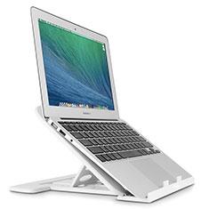 Apple MacBook Air 13 インチ.3 (2018)用ノートブックホルダー ラップトップスタンド S02 アップル シルバー