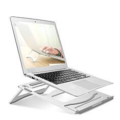 Apple MacBook Air 13 インチ.3 (2018)用ノートブックホルダー ラップトップスタンド S03 アップル シルバー