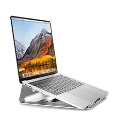Apple MacBook Air 13 インチ.3 (2018)用ノートブックホルダー ラップトップスタンド S04 アップル シルバー