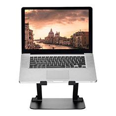 Apple MacBook Air 13 インチ.3 (2018)用ノートブックホルダー ラップトップスタンド S08 アップル ブラック