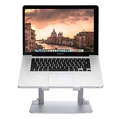 Apple MacBook Air 13 インチ.3 (2018)用ノートブックホルダー ラップトップスタンド S08 アップル シルバー