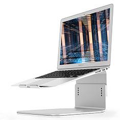 Apple MacBook Air 13 インチ.3 (2018)用ノートブックホルダー ラップトップスタンド S09 アップル シルバー
