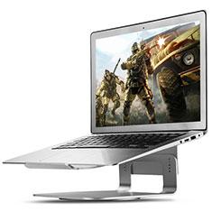 Apple MacBook Air 13 インチ.3 (2018)用ノートブックホルダー ラップトップスタンド S16 アップル シルバー