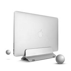 Apple MacBook Pro 13 インチ (2020)用ノートブックホルダー ラップトップスタンド S01 アップル シルバー