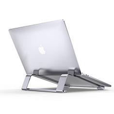 Apple MacBook Pro 13 インチ用ノートブックホルダー ラップトップスタンド T10 アップル シルバー