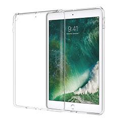 Apple New iPad 9.7 (2017)用極薄ソフトケース シリコンケース 耐衝撃 全面保護 クリア透明 カバー アップル クリア