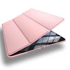 Apple New iPad 9.7 (2017)用手帳型 レザーケース スタンド L11 アップル ローズゴールド