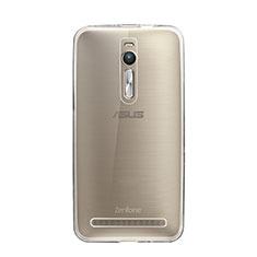 Asus Zenfone 2 ZE551ML ZE550ML用極薄ソフトケース シリコンケース 耐衝撃 全面保護 クリア透明 Asus クリア