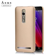 Asus Zenfone 2 ZE551ML ZE550ML用ハードケース プラスチック 質感もマット Asus ゴールド