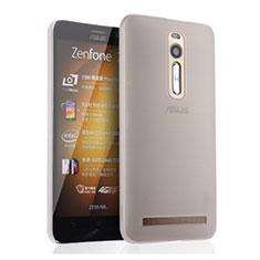Asus Zenfone 2 ZE551ML ZE550ML用極薄ケース クリア透明 プラスチック Asus ホワイト