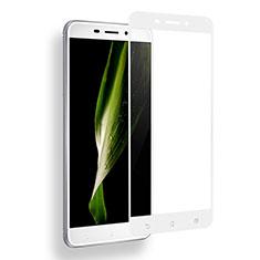 Asus Zenfone 3 Laser用強化ガラス フル液晶保護フィルム Asus ホワイト