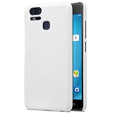 Asus Zenfone 3 Zoom用ハードケース プラスチック 質感もマット Asus ホワイト