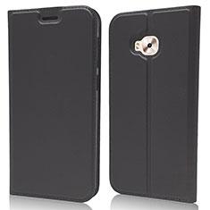 Asus Zenfone 4 Selfie Pro用手帳型 レザーケース スタンド カバー L02 Asus ブラック