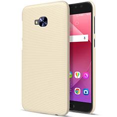 Asus Zenfone 4 Selfie Pro用ハードケース プラスチック 質感もマット Asus ゴールド