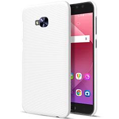 Asus Zenfone 4 Selfie Pro用ハードケース プラスチック 質感もマット Asus ホワイト