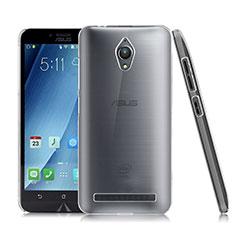 Asus Zenfone Go ZC500TG用ハードケース クリスタル クリア透明 Asus クリア