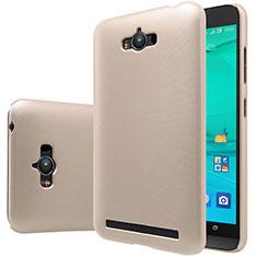 Asus Zenfone Max ZC550KL用ハードケース プラスチック 質感もマット Asus ゴールド