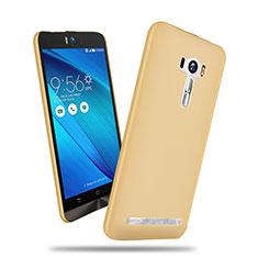 Asus Zenfone Selfie ZD551KL用ハードケース プラスチック 質感もマット Asus ゴールド