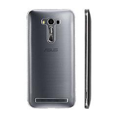 Asus Zenfone Selfie ZD551KL用極薄ソフトケース シリコンケース 耐衝撃 全面保護 クリア透明 Asus クリア
