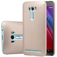 Asus Zenfone Selfie ZD551KL用ハードケース プラスチック 質感もマット M01 Asus ゴールド