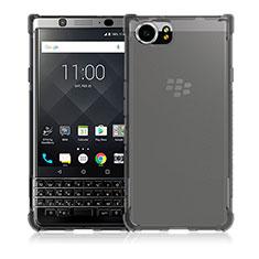 Blackberry KEYone用極薄ソフトケース シリコンケース 耐衝撃 全面保護 クリア透明 T04 Blackberry クリア