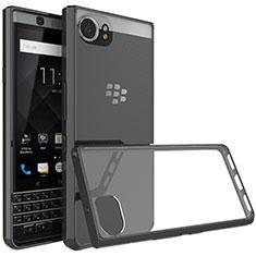 Blackberry KEYone用バンパーケース クリア透明 Blackberry ブラック